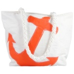 Orange Anchor Recycled Sail Bag