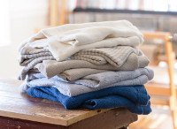 Pure Linen Blankets from Brahms Mount