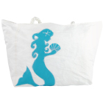 Turquoise Mermaid Recycled Sail Bag