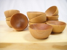 Wooden Pinch Bowls from New England Trading Company