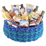 The Grand New Englander Lobster Rope Gift Basket